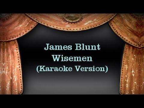 James Blut - Wiseman (Karaoke Version) Lyrics