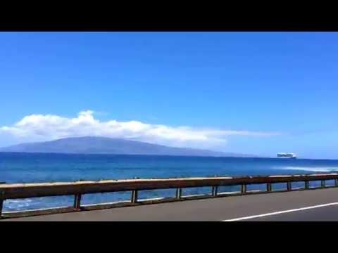 Lahaina Drive, Maui,  Hawaii, April 2014
