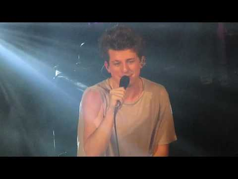 Charlie Puth -  Up all night (Live Paris Le Trianon 2016)