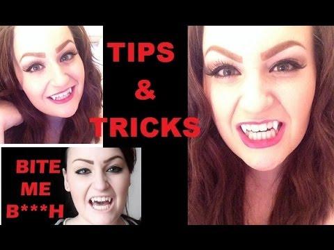 DIY Vampire Fangs: Tips & Tricks! - YouTube