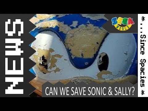 Save Sonic & Sally - Sega World Statues Found Abandoned in 2018!