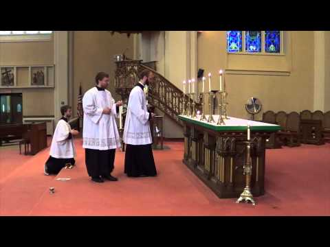 How to Serve Adoration of the Blessed Sacrament Holy Name Parish