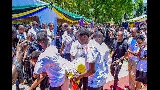 Mwili wa Marehemu AKWILINA katika Chuo cha NIT