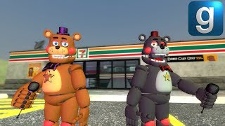 Gmod FNAF | Rockstar Freddy & Lefty From FNAF 6