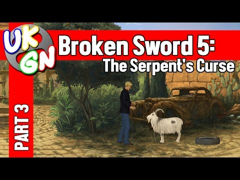 Broken Sword 5: The Serpent's Curse - 100% Walkthrough - Part 3