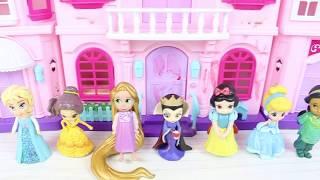 Prensesler Şarkı Yarışmasında Disney Prenses Eğitici Videolar