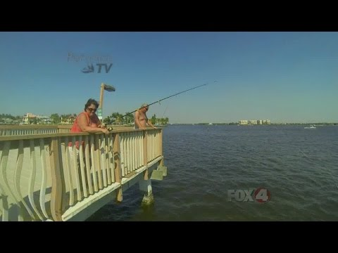Cape Coral Yacht Club Fishing Pier 04/08/2015
