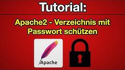 Tutorial: Apache2 - Verzeichnis mit Passwort schützen [Deutsch] [Full-HD]