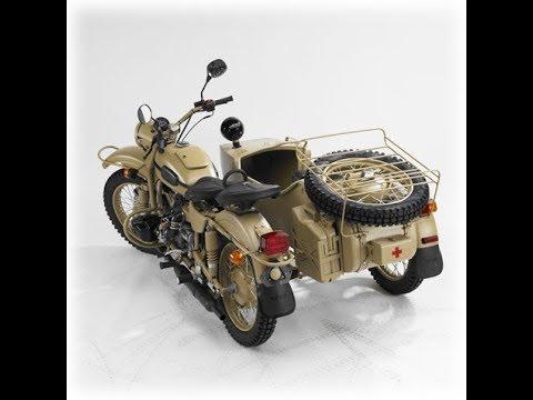 Смазываю трос переднего тормоза мотоцикла Урал.