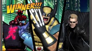 Ultimate Marvel vs. Capcom 3 PS4 Gameplay