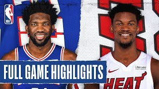 76ERS at HEAT | FULL GAME HIGHLIGHTS | February 3, 2020