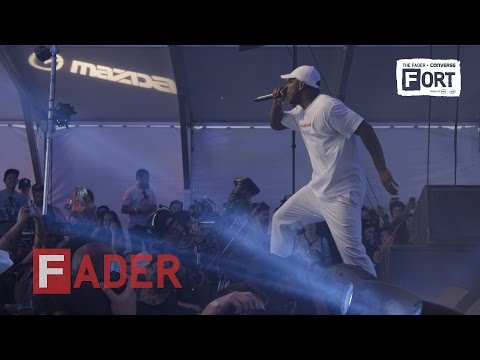 """Skepta, """"It Ain't Safe (ft. A$AP Bari)"""" - Live at The FADER FORT presented by Converse"""