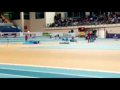 İstanbul Salon türkiye şampiyonası 400mt seçme