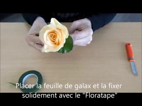 2016 - DIY/ Tutoriel Boutonnière pour Mariage - Carrément Fleurs