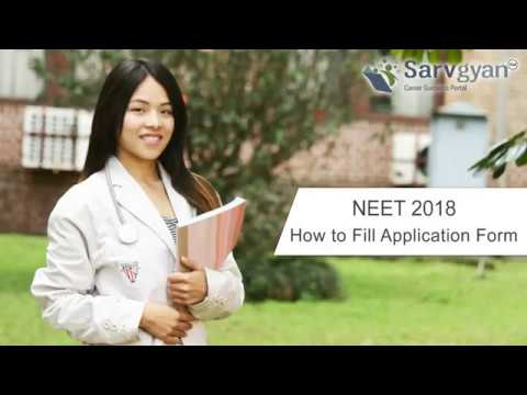 NEET 2018 Application Form   How to Fill Guide