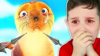 9YR OLD REACTS SADDEST ANIMATION EVER.. (TRY NOT TO CRY CHALLENGE)