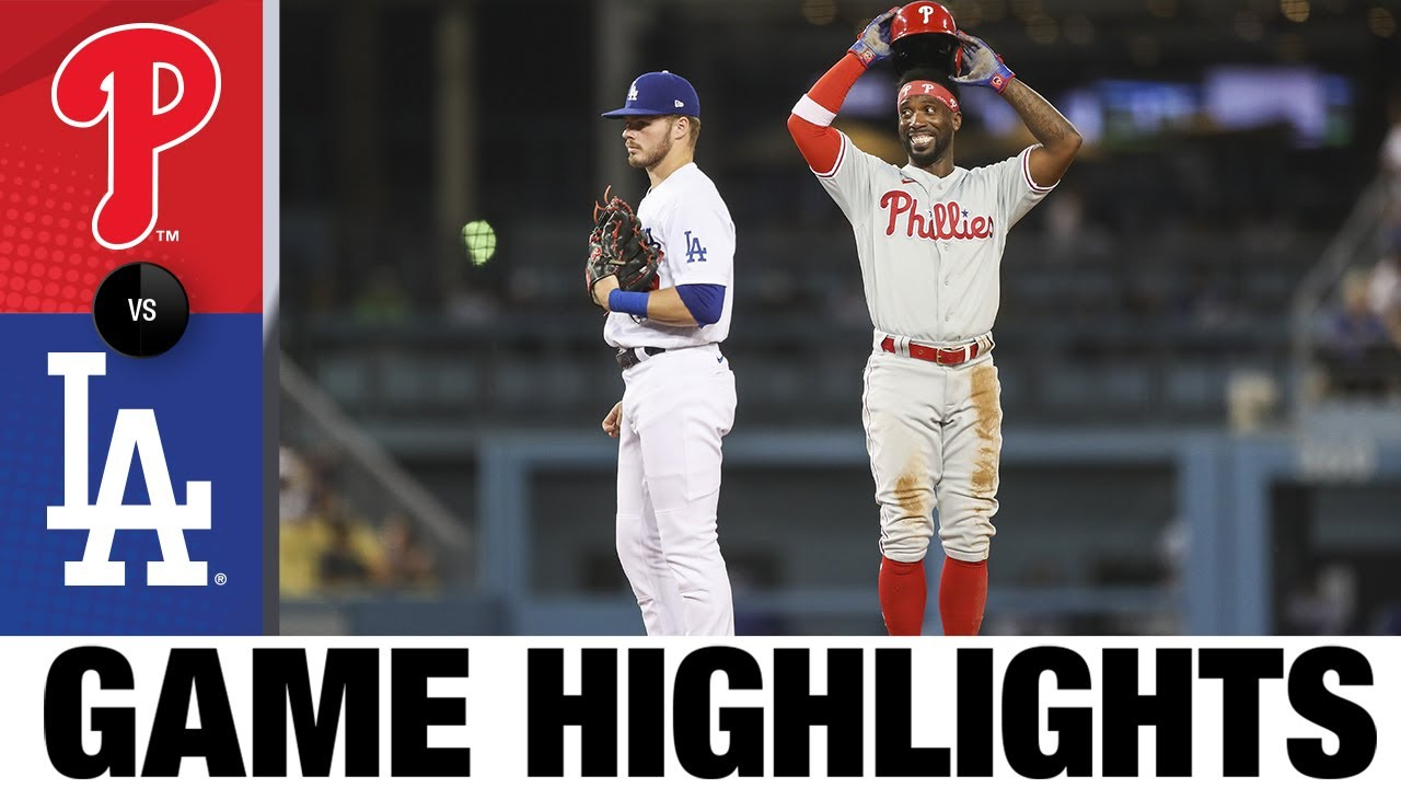 Download Phillies vs. Dodgers Game Highlights (6/14/21)   MLB Highlights