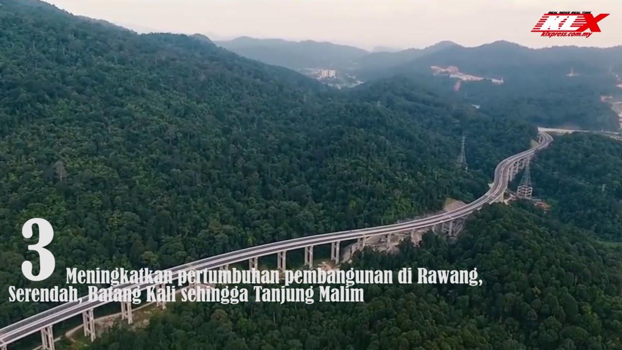 Jalan Pintas Rawang Jambatantertinggi Di Malaysia Youtube