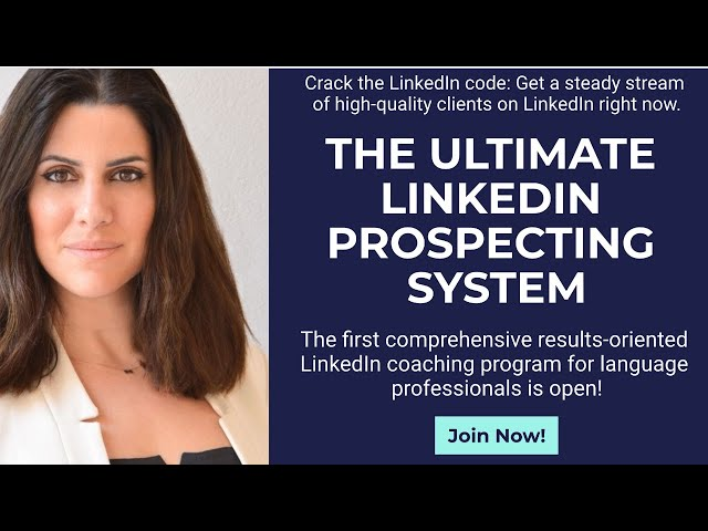 Ask Me Anything about the Ultimate LinkedIn Prospecting System