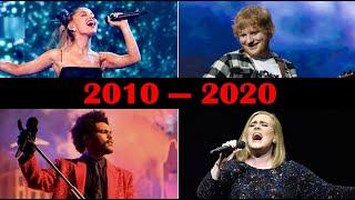 Top 10 Best SeĮling Songs Each Year (2010-2020)
