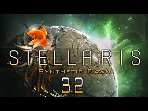 STELLARIS 2 MILLION FLEET VS CONTINGENCY Synthetic Dawn DLC - Let's Play Gameplay