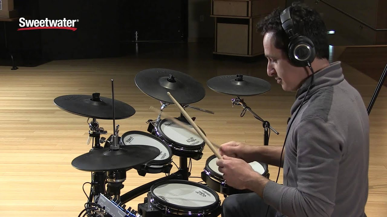 Roland v drums td 25kv electronic drum set review by sweetwater roland v drums td 25kv electronic drum set review by sweetwater sound youtube solutioingenieria Images