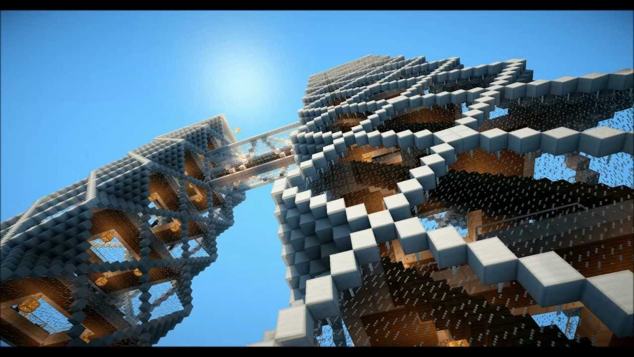 Minecraft biotech hochhaus realistische grafik youtube - Minecraft hochhaus ...