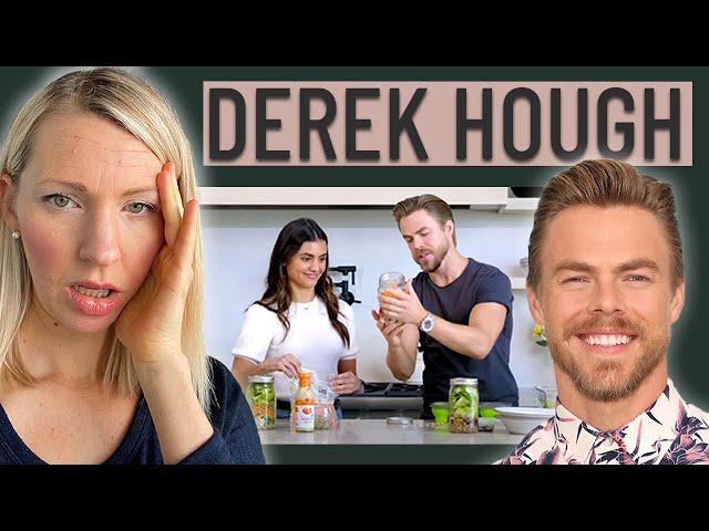 Dietitian Reacts to Derek Hough's What I Eat In a Day (WAIT... is this a Wellness Culture JOKE?!)