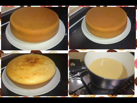 فرنك بيبوظ الكيكة منك جربي كيكة الحلة علي النار بجد فظيعة والتجربة خير برهان