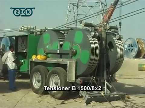 400 KV transmissionline Dubai, UAE: Quad Bundle Stringing 2005