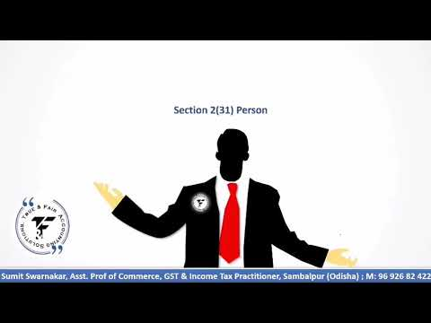 Demo Class 4 | Meaning of Person Section 2(31) Income Tax ...