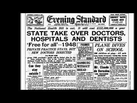 5th July 1948: National Health Service launched in the UK