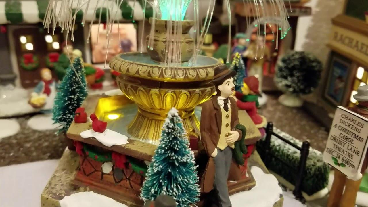 St Nicholas Christmas Village.2017 Christmas Village Featuring Dept 56 St Nicholas Square Lemax And More