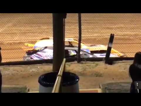 Modified wreck  at north west Florida speedway