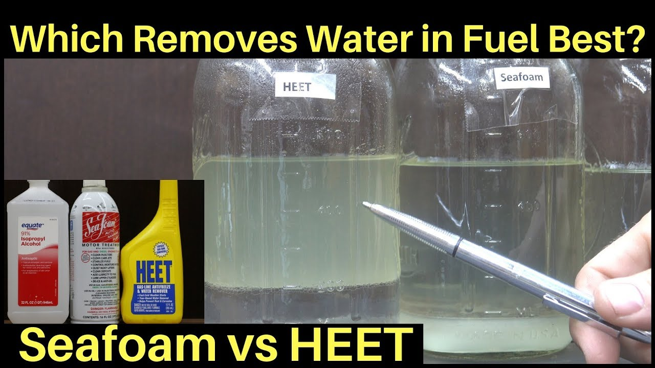 Is Heet Better Than Seafoam For Water In Fuel Let S Find