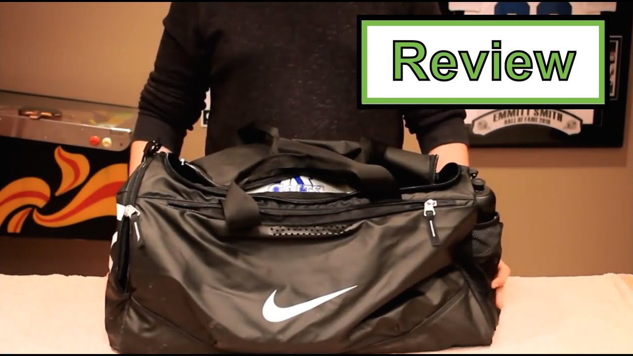 ea449bafd Review | Nike Team Training Max Air Duffel Bag - YouTube