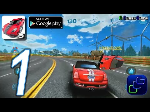 Asphalt Nitro Android Walkthrough - Gameplay Part 1 - Career Season 1: Inception