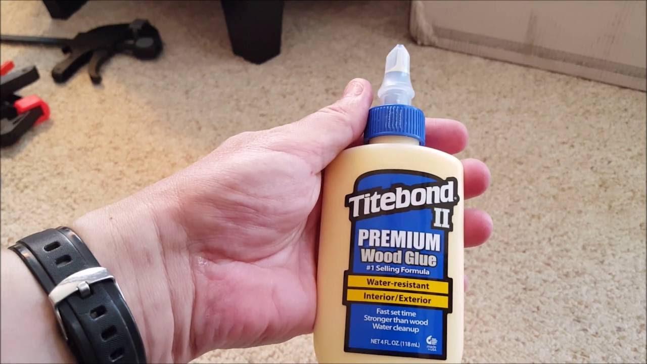 titebond premium wood glue youtube