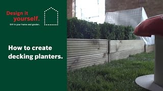 How To: Create Decking Planters