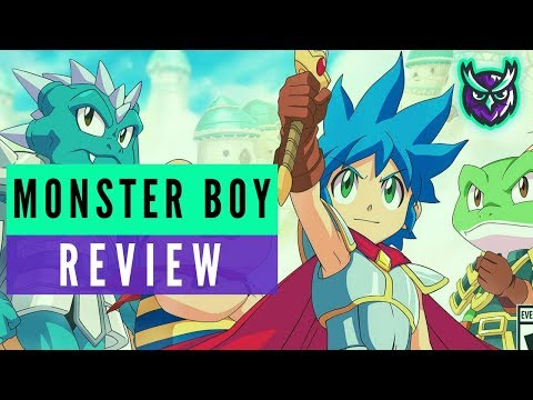 Monster Boy and the Cursed Kingdom Nintendo Switch Review (One of the BEST platformers!)