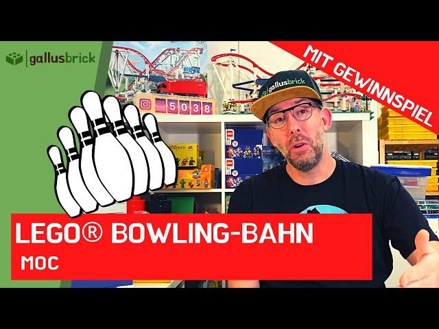 Wie habe ich eine Bowlingbahn aus LEGO gebaut?   Ninjago MOC   Gewinnspiel   ABO-Spezial