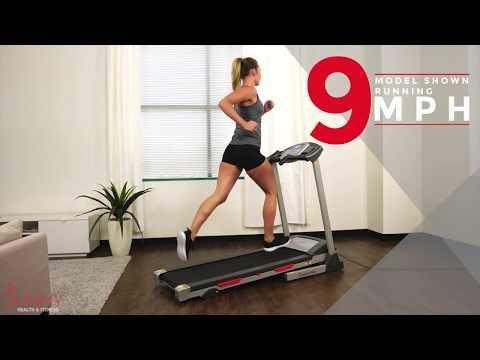 SF-T7603 Motorized Treadmill Sunny Health and Fitness