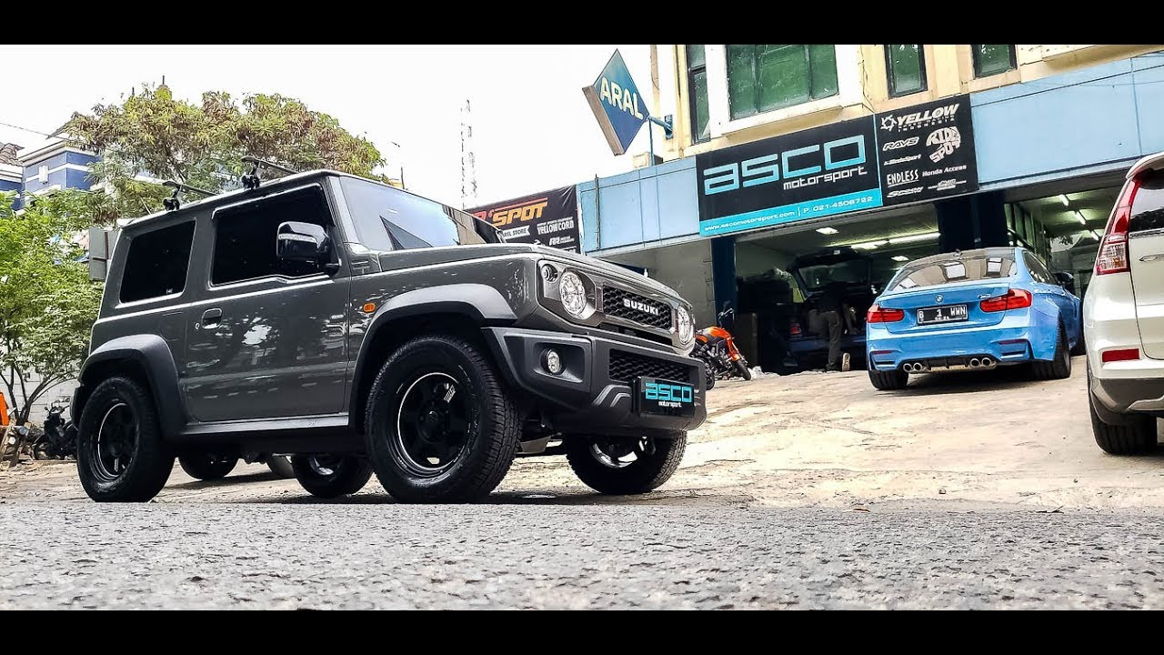 Modifikasi Suzuki All New Jimny