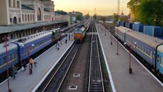 Train station Ivano Frankivsk, Ukraine(, 2016-05-18T19:20:01.000Z)