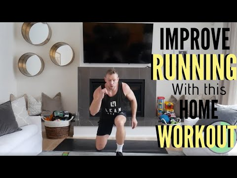 HOME WORKOUT TO IMPROVE RUNNING ENDURANCE!