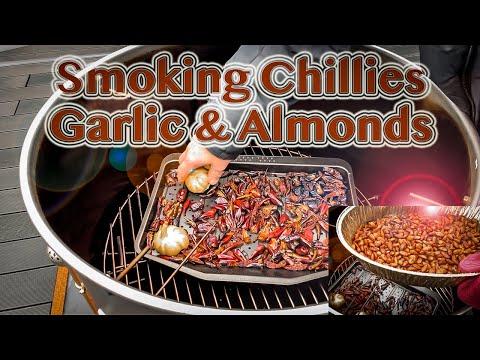 UDS Smoked Chillis, Garlic & Almonds – Ugly Drum Smoker