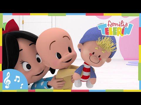 Pin Pon es un Muñeco. Familia Telerín. Canciones Infantiles para Niños.