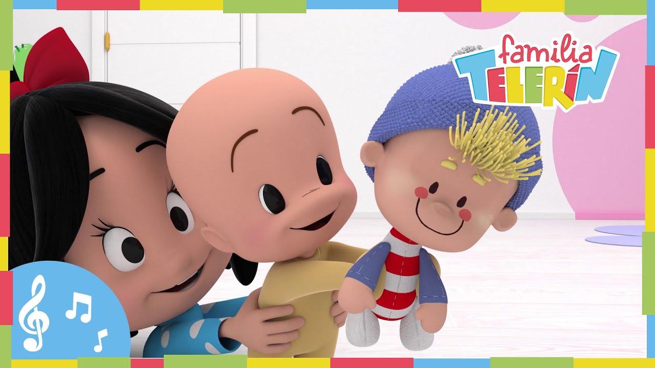 538e82fe33 Pin Pon es un Muñeco. Familia Telerín. Canciones Infantiles para Niños.