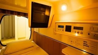 Capsule hotels in japan cheap and convenient ارخص فنادق في اليابان ,مدهش