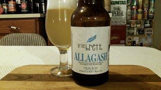 Allagash Brewing Company Little Brett (4.8% ABV) DJs BrewTube Beer Review #954